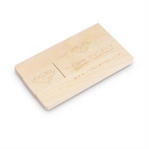 Egyedi gravírozott kártya pendrive