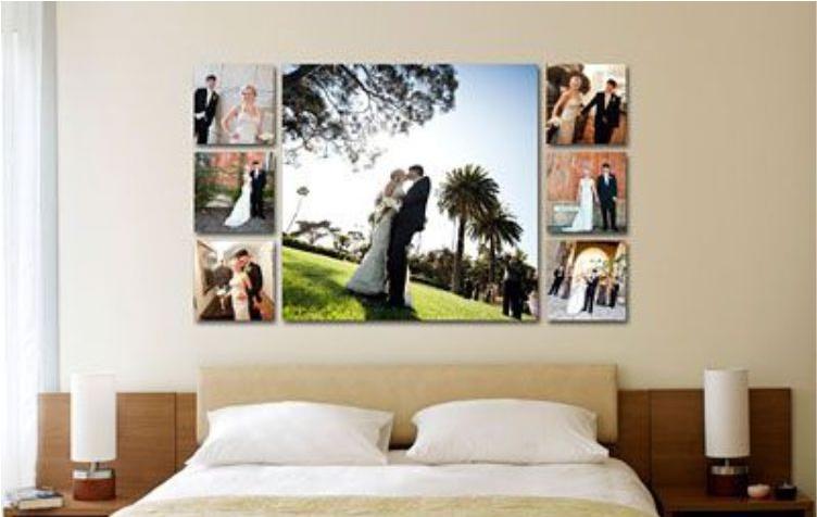 esküvői vászonkép
